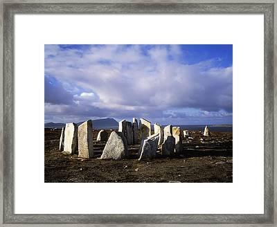Blacksod Point, Co Mayo, Ireland Stone Framed Print by The Irish Image Collection