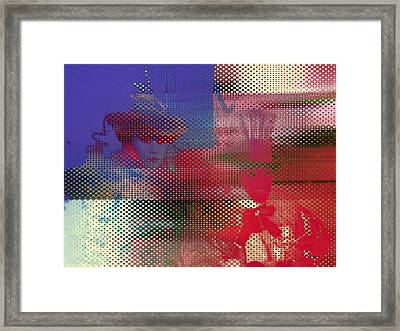 Blame Colpa Framed Print