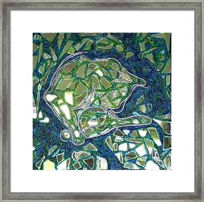 Blanco Framed Print by Hatin Josee