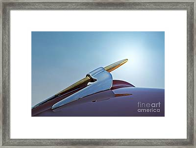 Blast-off Framed Print by Gwyn Newcombe