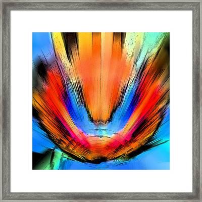 Blast Framed Print