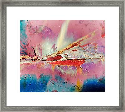 Bleeding Colours  Framed Print