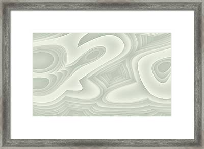 Framed Print featuring the digital art Bleezal by Jeff Iverson