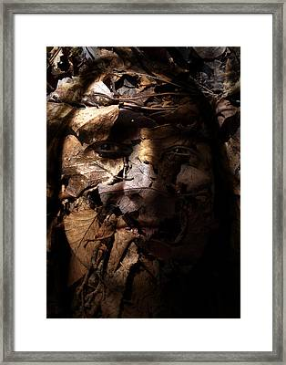Blending In Framed Print