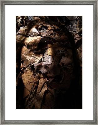 Blending In Framed Print by Christopher Gaston