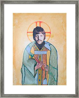 Blessed Ringo Framed Print by Philip Atkinson