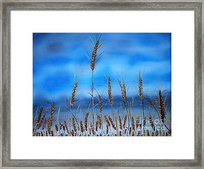 Blessed Seeds Collection-  Framed Print