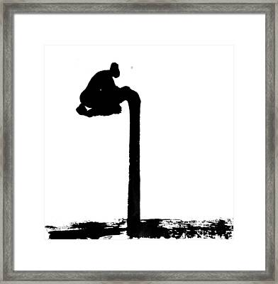 Blessing Framed Print by Jinhyeok Lee