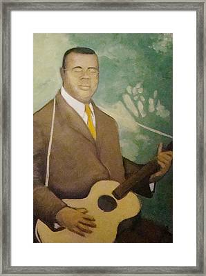 Blind Lemon  Framed Print by Mark Haley