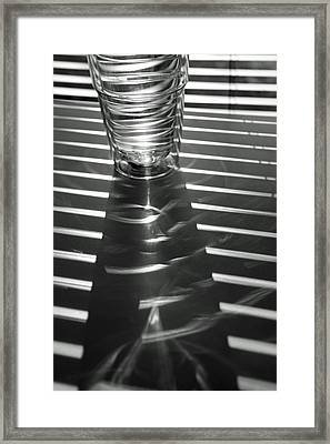 Blind Shadows Framed Print by Lauri Novak