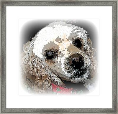 Framed Print featuring the photograph Blinded By Love by Pamela Hyde Wilson