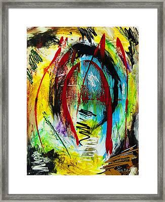 Blinded Framed Print by Terrance Prysiazniuk