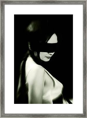 Blindfold Framed Print by Joana Kruse