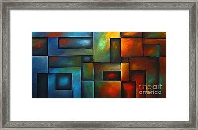 Blinding Light Framed Print by Uma Devi