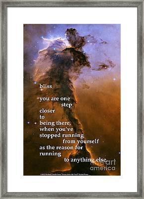 Bliss Framed Print by Richard Donin