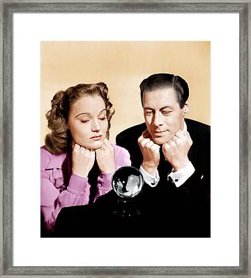 Blithe Spirit, From Left Constance Framed Print by Everett