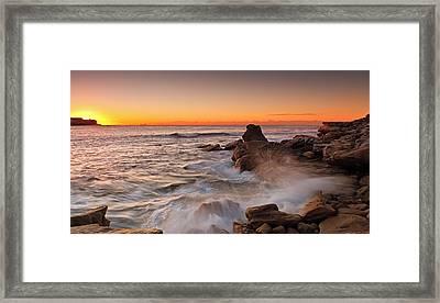 Blocked Rays Framed Print