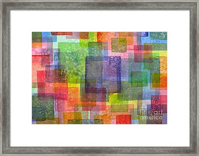 Blocks IIi Framed Print