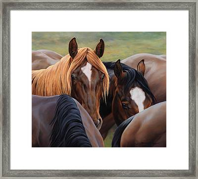 Blonde Moment Framed Print by JQ Licensing