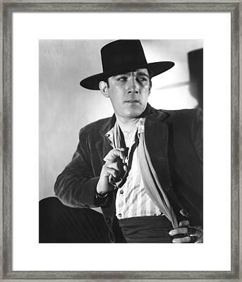 Blood And Sand, Anthony Quinn, 1941 Framed Print