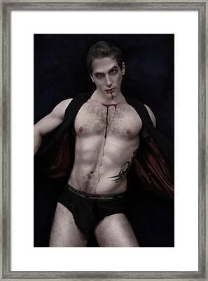 Blood Feast Framed Print by John Clum