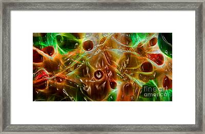 Blood Work Framed Print
