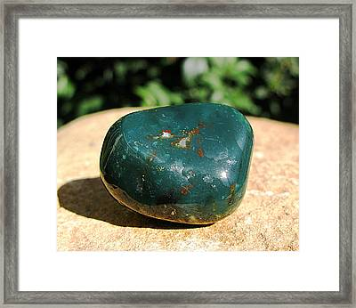 Bloodstone Framed Print