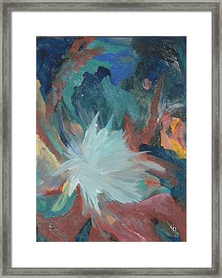 Blooming Star Framed Print