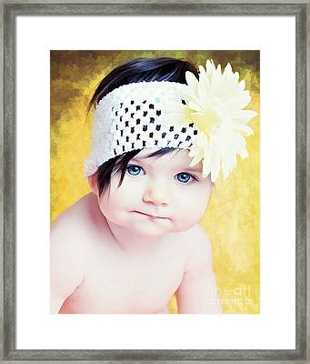 Blossom Framed Print by Billie-Jo Miller