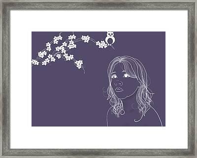 Blossom Framed Print by Lisa Knechtel