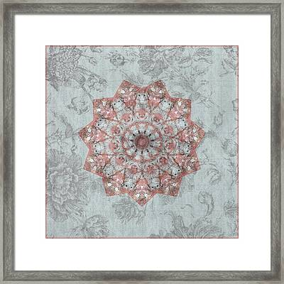 Blossoming Moment Framed Print by Bonnie Bruno