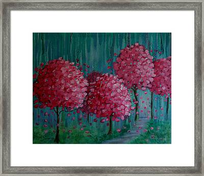 Blossoms Framed Print by Melodie Douglas