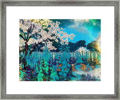 Blowberry Framed Print by Monroe Snook