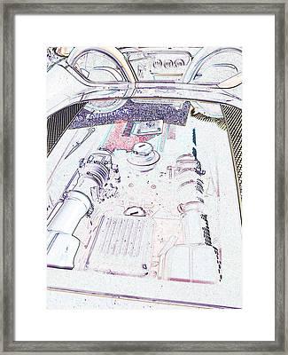 Framed Print featuring the photograph Blowers On Edge by Carolina Liechtenstein