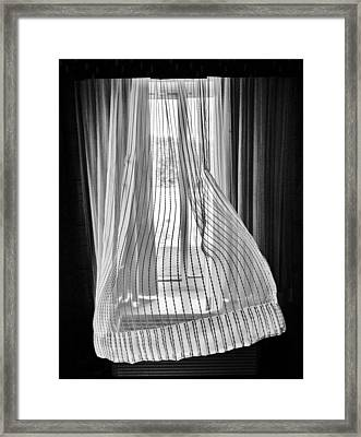 Blowing In The Ac Wind Framed Print by Jim Moore