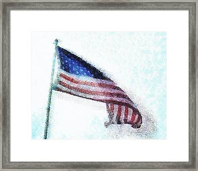 Blowing In The Wind Framed Print by Steve Taylor