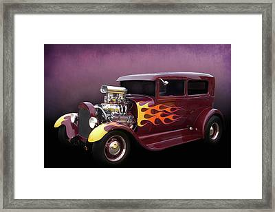 Framed Print featuring the photograph Blown 28 Tudor by Bill Dutting