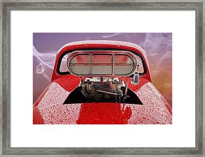 Blown Framed Print by Alan Hutchins