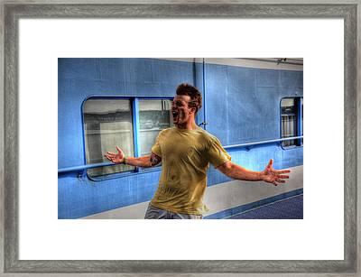 Blown Away Framed Print by Barry R Jones Jr