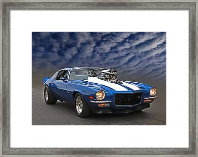Blown Z28 Framed Print by Bill Dutting
