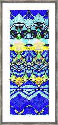 Blue 3 10 Framed Print