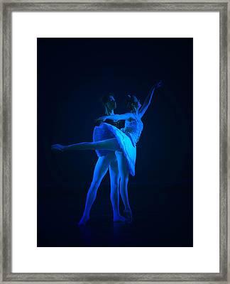 Blue Ballet Framed Print by Jenn Harris