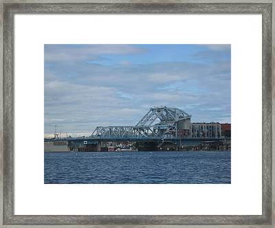 Blue Bridge Victoria Framed Print