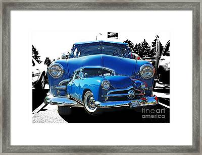 Blue Classic Dbl.hdr Framed Print by Randy Harris