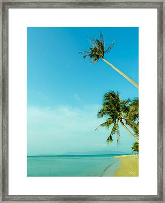 Blue Day Framed Print by Allan Rufus