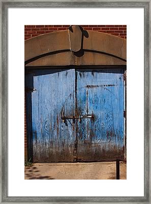 Blue Doors Framed Print by Bob Whitt