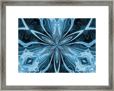 Blue Exaltation Framed Print