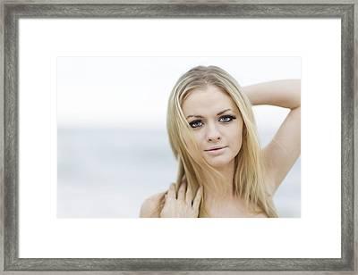 Blue Eyed Beauty Framed Print by Rick Berk