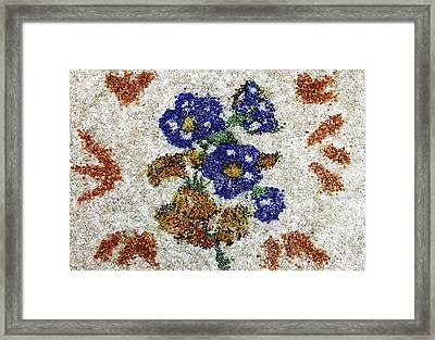 Blue Flowers Framed Print by Natalya A