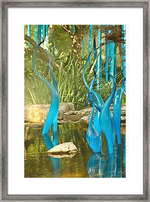 Blue Haze Framed Print by Jan Canavan